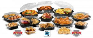 Crisp Hot To Go Containers