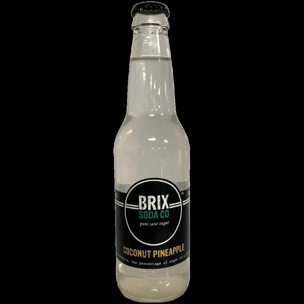 Coconut Pineapple Brix Soda